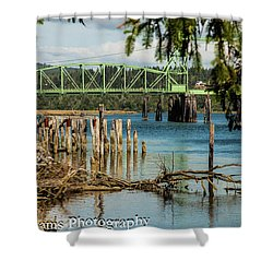 Bandon Drawbridge Shower Curtain