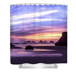 Bandon On Fire Shower Curtain