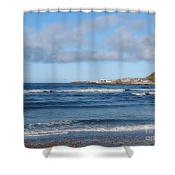 Banff Bay  Shower Curtain