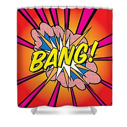 Bang 2 Shower Curtain