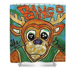 Bango The Great Shower Curtain