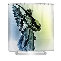 Banjo Heaven Shower Curtain by Bill Cannon