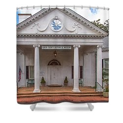 Banksia Mansion - Aiken, Sc Shower Curtain