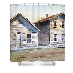 Bannack Ghost Town Montana Shower Curtain by Kevin Heaney