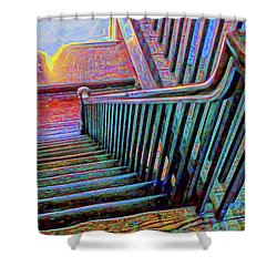 Bannister Shower Curtain