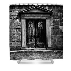 Bar Across The Door Shower Curtain by Bob Orsillo