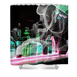 Bar Collection Shower Curtain