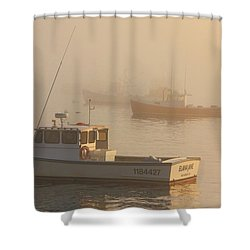 Bar Harbor Fleet Shower Curtain