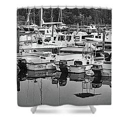 Bar Harbor, Maine No. 3-1 Shower Curtain by Sandy Taylor
