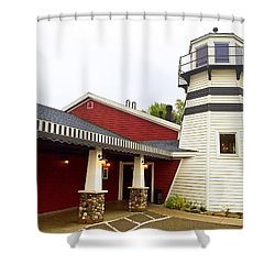 Bar Harbor Study 3 Shower Curtain
