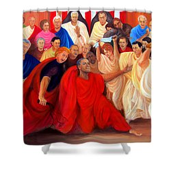 Barack Obama And Friends Shower Curtain