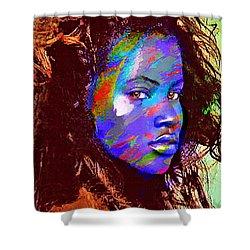 Barbados Woman Shower Curtain by Philip Gresham