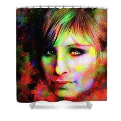 Barbara Streisand Shower Curtain