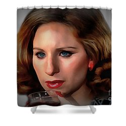 Barbara Streisand Shower Curtain