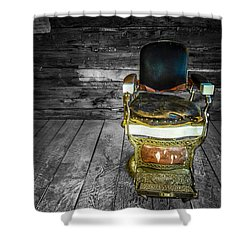 Ghost Town Barber Chair No. 1 Shower Curtain