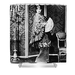 Barbra Streisand (1942- ) Shower Curtain by Granger