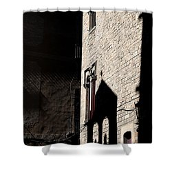 Shower Curtain featuring the photograph Barcelona 2 by Andrew Fare
