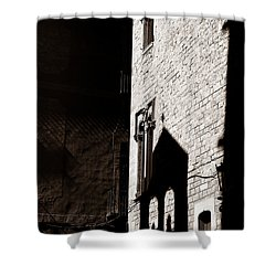 Shower Curtain featuring the photograph Barcelona 2b by Andrew Fare