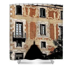 Shower Curtain featuring the photograph Barcelona 3 by Andrew Fare