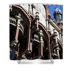 Shower Curtain featuring the photograph Barcelona 4 by Andrew Fare