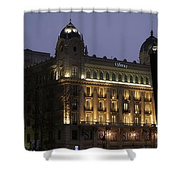 Barcelona Spain Shower Curtain