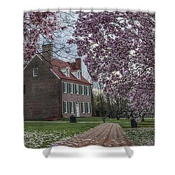 Barclay Farmstead Shower Curtain