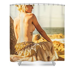 Bare Elegance Shower Curtain