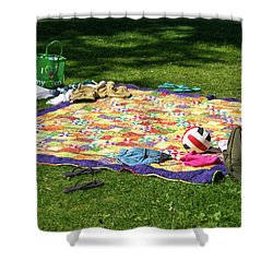 Barefoot In The Grass Shower Curtain