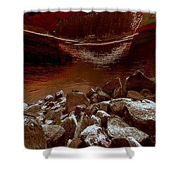 Bargain Bay 3 Series 2 Shower Curtain by Elaine Hunter