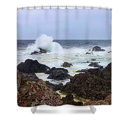 Barkley Sound Shower Curtain by Heather Vopni