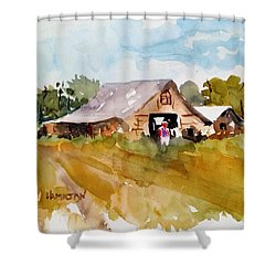 Barn # 2 Shower Curtain