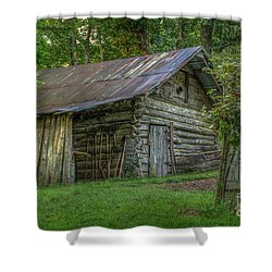 Barn At Artist Point Shower Curtain