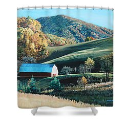 Barn At Blowing Rock Shower Curtain