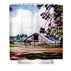 Barn At Honey Island Shower Curtain