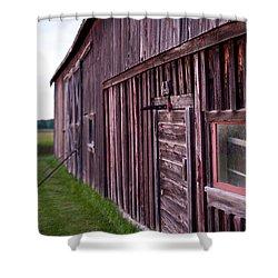 Barn Door Small Shower Curtain