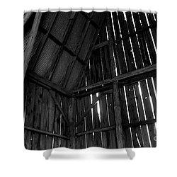 Barn Inside Shower Curtain