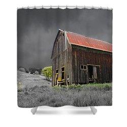 Barn Life Shower Curtain