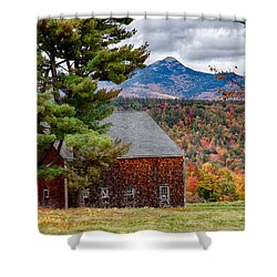 Barn Number Three Shower Curtain