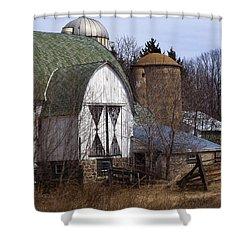 Barn On 29 Shower Curtain