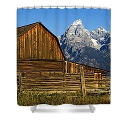 Barn On Mormon Row Shower Curtain