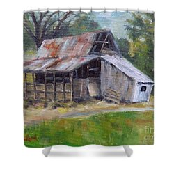 Barn Shack Shower Curtain