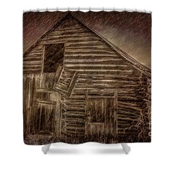 Barn Storm Shower Curtain