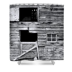 Barn Texture Shower Curtain