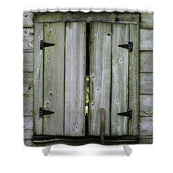Barn Window, In Color Shower Curtain