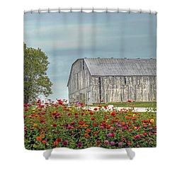 Barn With Charm Shower Curtain