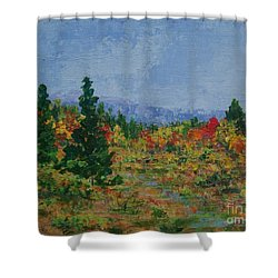 Barnardsville Branch Shower Curtain