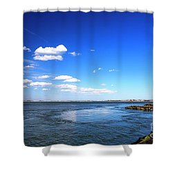 Barnegat Lighthouse Shower Curtain