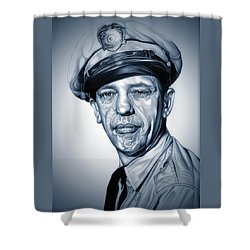 Barney Fife Shower Curtain by Fred Larucci