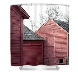 Barns Shower Curtain