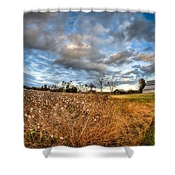 Barns And Cotton Shower Curtain